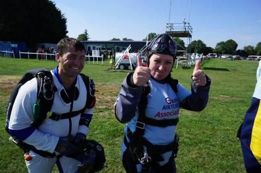 Carol Peachy Skydive 1