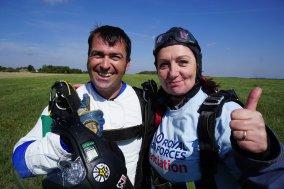 Carol Peachy Skydive 16