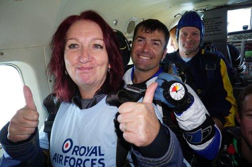 Carol Peachy Skydive 4