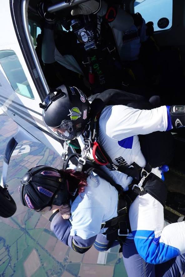 Carol Peachy Skydive 6