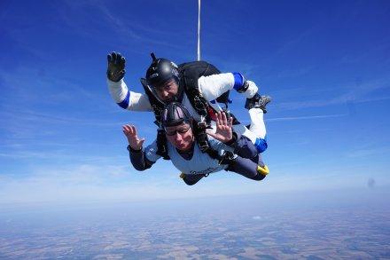 Carol Peachy Skydive 9